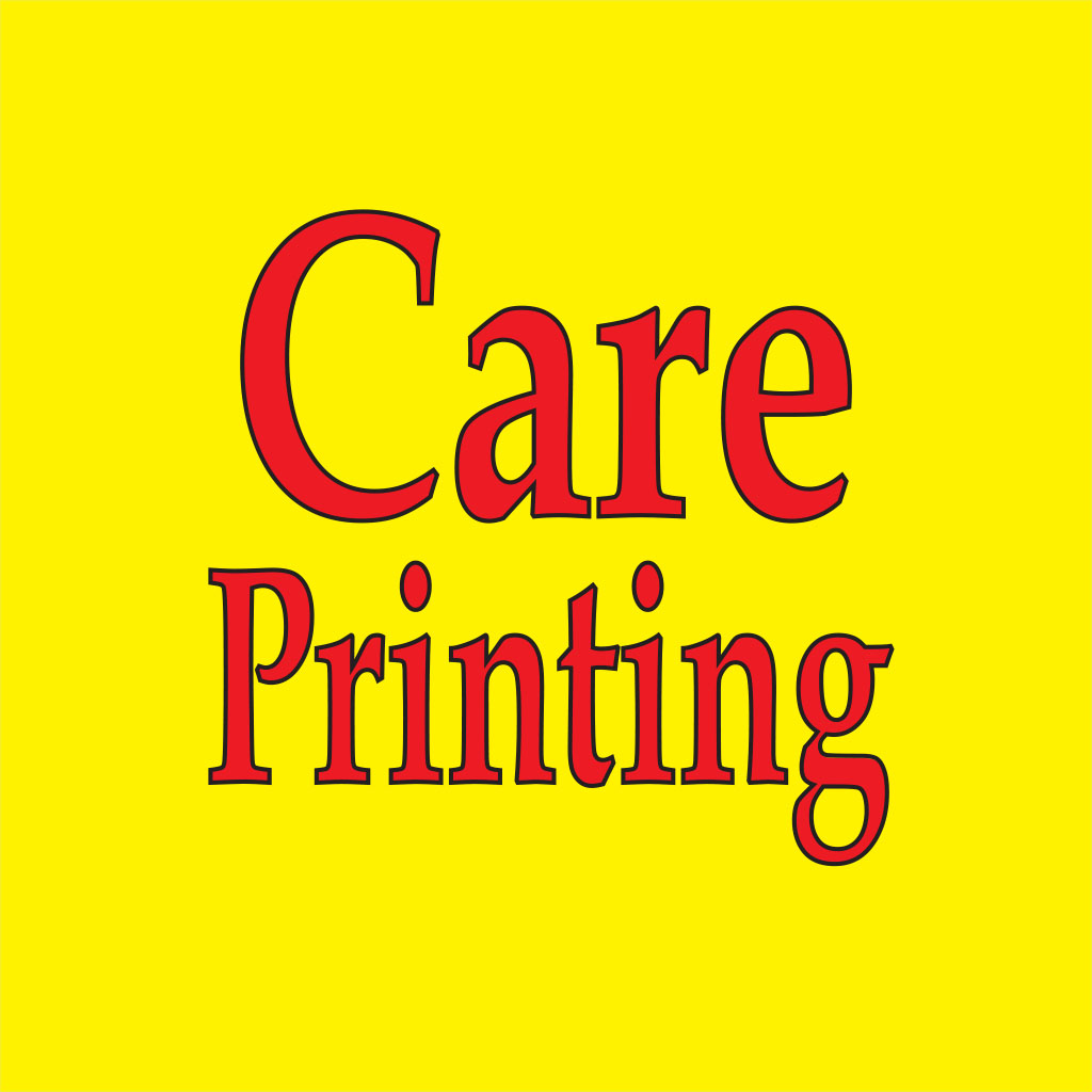 Care printing 2 lines yellow for App 01 01