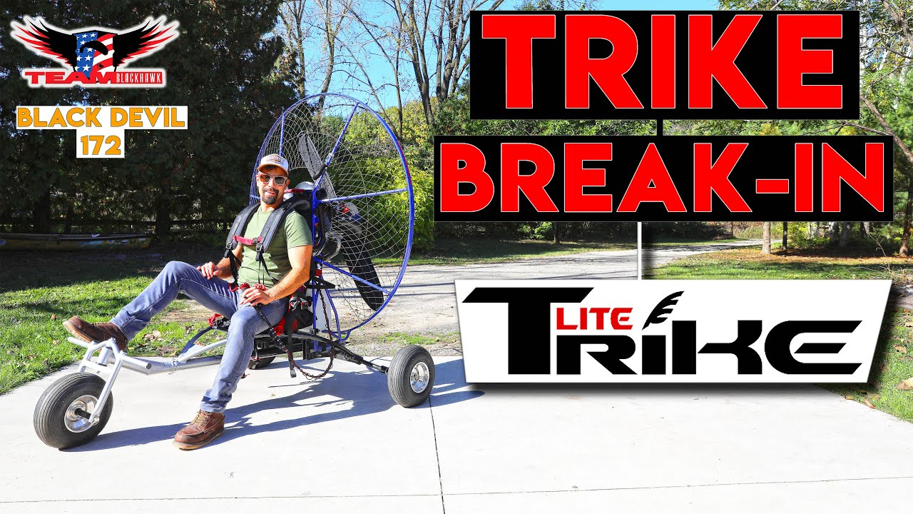 i bought a trike and black devil 172 now what with marc amenson
