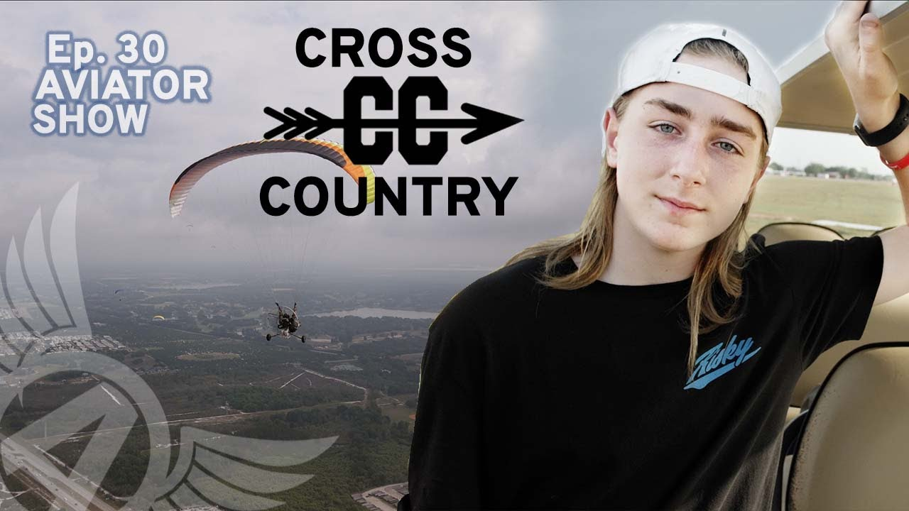 paramotor students first cross country aviator show ep 30 with aviatorshow 1